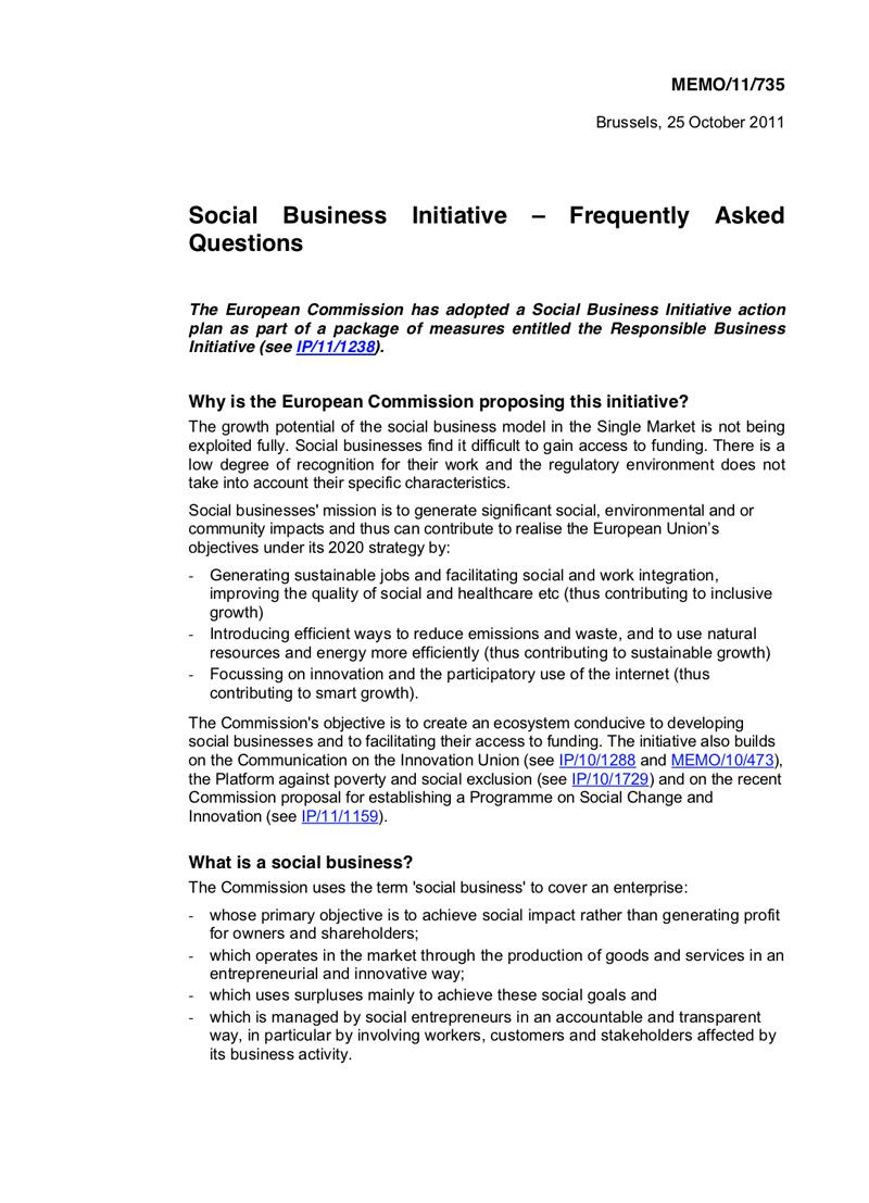 social-business-initiative-faq
